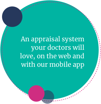 An appraisal system your doctors will love, on the web and with our mobile app.